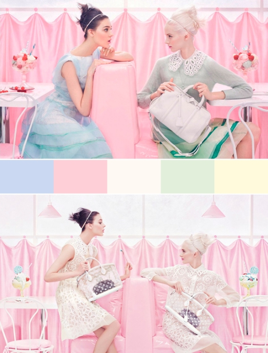 Louis Vuitton Spring/Summer 2012 campaign (via Elle Decoration)